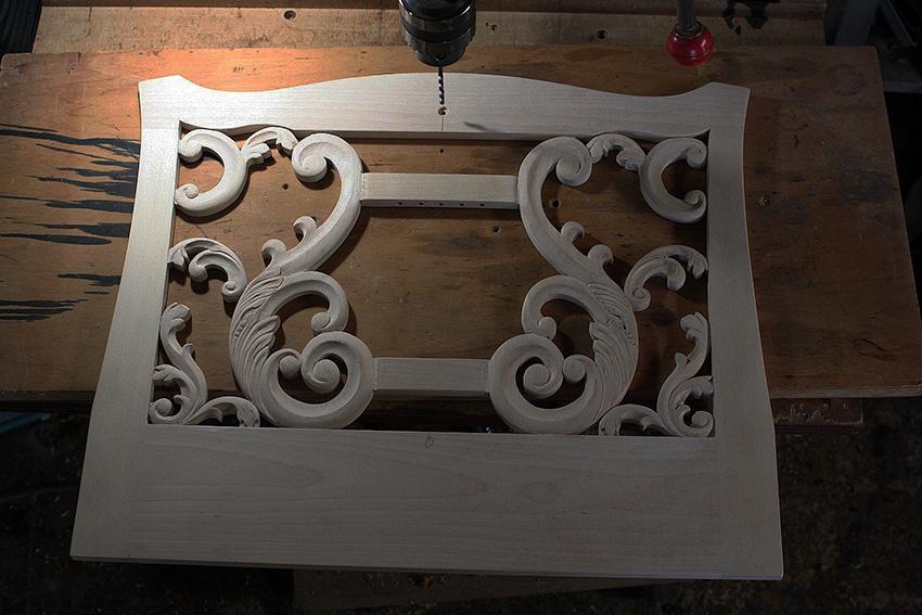木製譜面台「チッペンデール・リラ・モデル」#1_e0064847_11414732.jpg