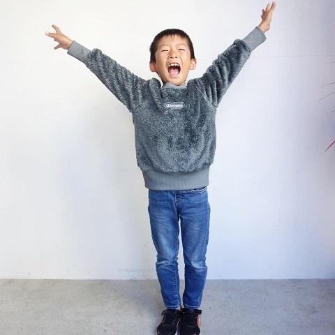 Champion kids :  FLEECE SWEAT_a0234452_13112184.jpg