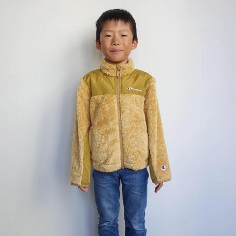 Champion kids :  FLEECE Jacket_a0234452_15121607.jpg