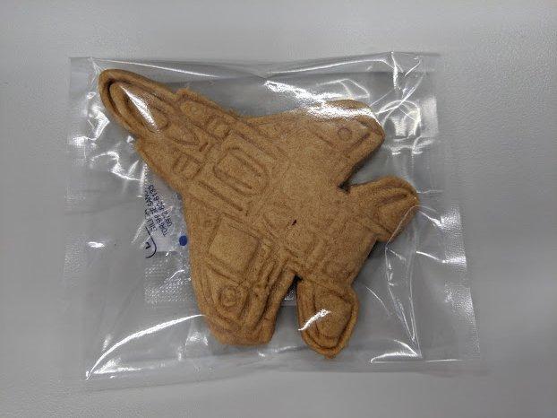 F15戦闘機クッキー(くろねこニャーゴのお菓子屋さん:千歳市清水町6)_f0397261_00022626.jpg