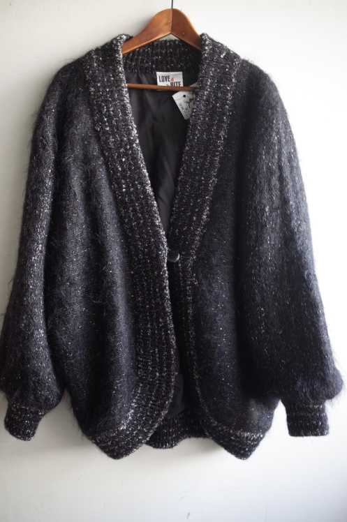 From Vintage Room☆シルバーラメMohair Knit Cardigan☆_e0269968_13441764.jpg