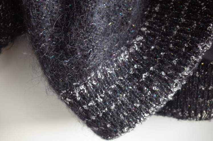 From Vintage Room☆シルバーラメMohair Knit Cardigan☆_e0269968_13444476.jpg