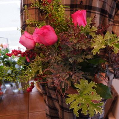 オークリーフ花の教室(赤地さんと宮原さんの作品)_f0049672_19180614.jpg