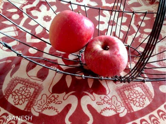 自家製ヨーグルトを使ったガネーシュの秋冬の味!「りんごラッシー」_e0145685_19213976.jpg