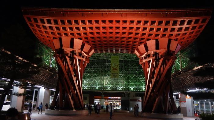 母娘の北陸旅③金沢駅の加賀屋で夕食_f0146587_09194666.jpg