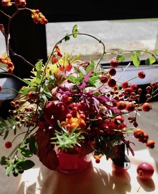 さまざまな秋の豊かな実をいっぱいに🍁✨_c0128489_15294002.jpg