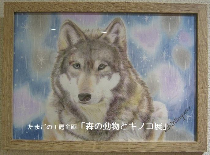 たまごの工房企画「森の動物とキノコ展」 その3_e0134502_16485380.jpg