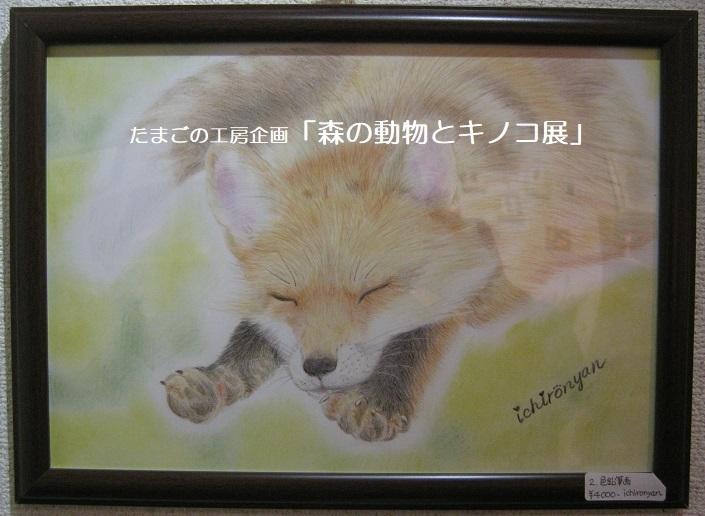たまごの工房企画「森の動物とキノコ展」 その3_e0134502_16485616.jpg