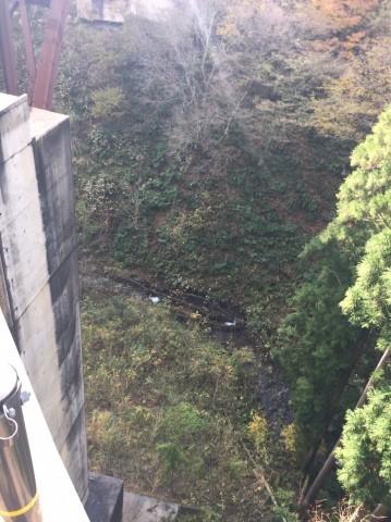 秋のトレッキング   大鹿滝_e0115904_15332362.jpg