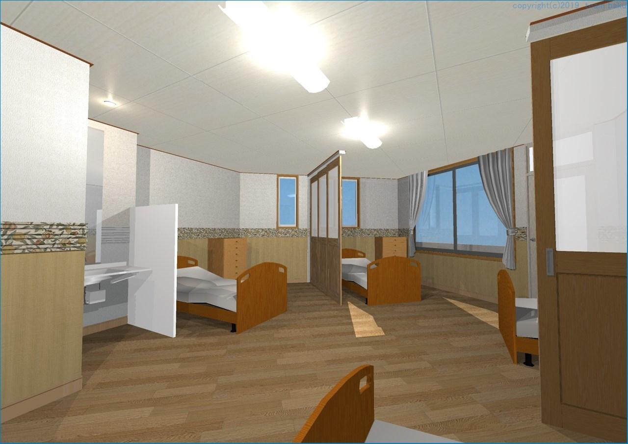 N病院グループ N病院東館 介護医療院転換改修工事 2_c0376508_18033825.jpg
