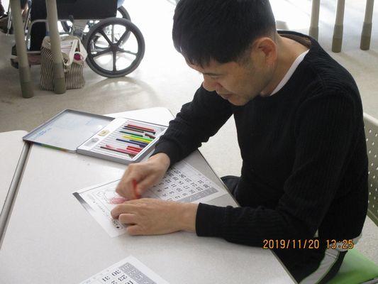 11/20 創作活動_a0154110_09342419.jpg