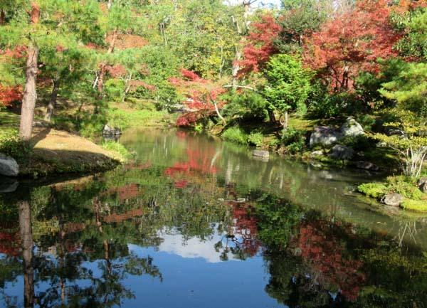 紅葉の盛り 等持院_e0048413_20552020.jpg