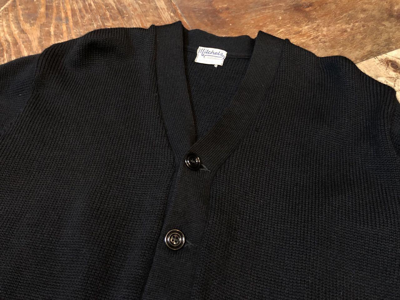 11月21日(木)入荷!50s ビンテージ all wool ブラックカラー カーディガン_c0144020_14022913.jpg