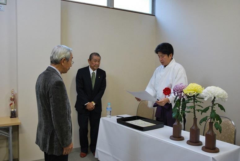 第101回福井菊花芸術展 表彰式_f0067122_18144752.jpg