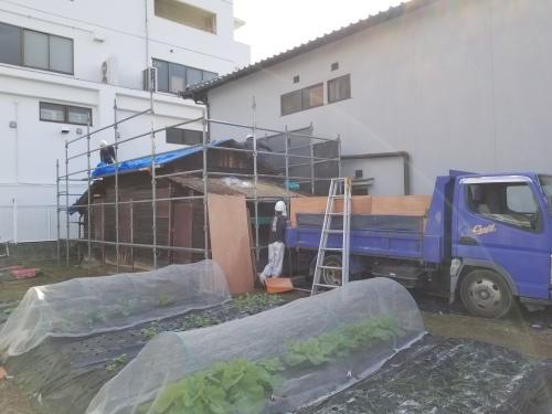 南区・K様邸 納屋改修工事_d0125228_02124852.jpg