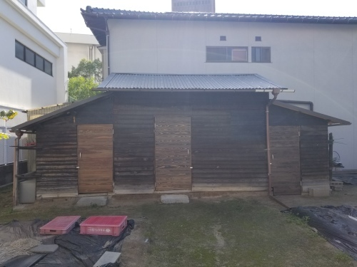 南区・K様邸 納屋改修工事_d0125228_02133854.jpg