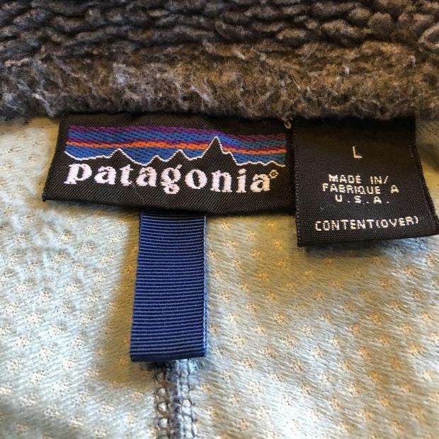 99年製 Patagonia レトロX ジャケット made in USA_c0355834_19063390.jpg