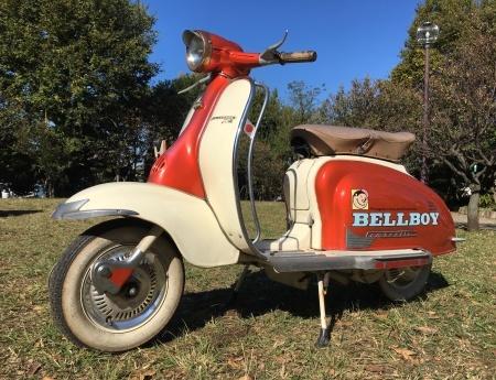 BELLBOYの帰還 〜1960 Lambretta 125Li Ser.2 入庫しました_f0123137_11381063.jpg