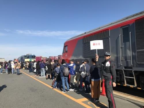 名古屋貨物ターミナル駅の公開に行って来ました_a0082347_16033335.jpg