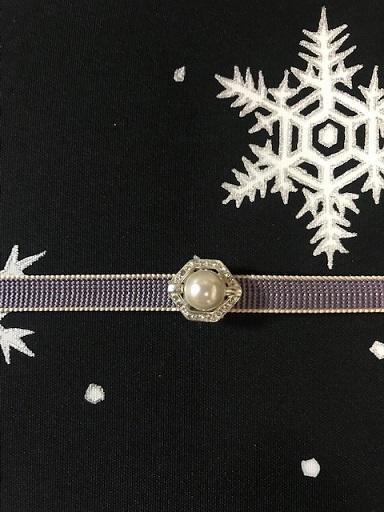 商品紹介・雪だるま染帯と雪の結晶小紋・Xmas以外にも。_f0181251_19175296.jpg