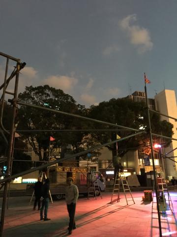 劇団どくんごがやってきた@中央公園(テンパーク)_f0082056_17584802.jpg