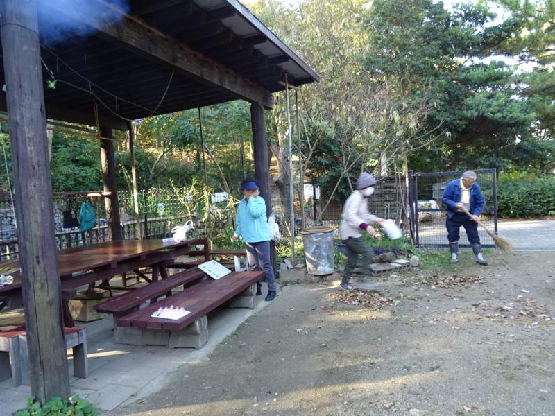 木の伐採は 楽しい作業・・・うみべの森_c0108460_15344921.jpg