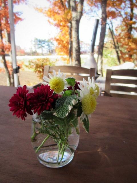 cafe and interior L / カフェ&インテリア エル * 初冬のテラスもおこたでぬくぬく♪_f0236260_00465643.jpg