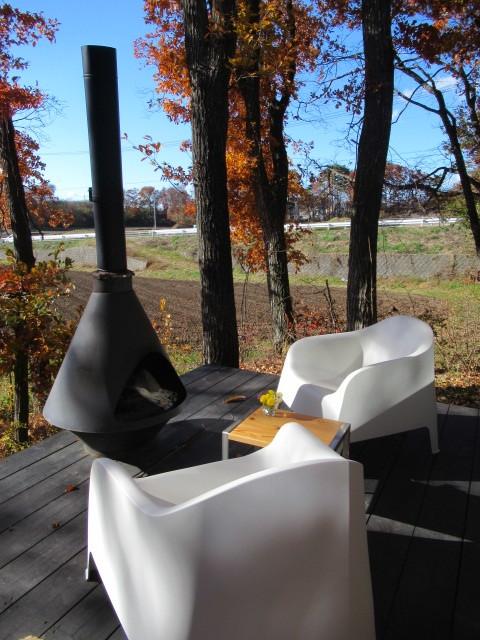 cafe and interior L / カフェ&インテリア エル * 初冬のテラスもおこたでぬくぬく♪_f0236260_00544080.jpg