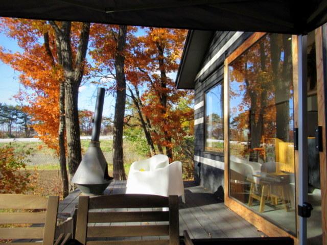 cafe and interior L / カフェ&インテリア エル * 初冬のテラスもおこたでぬくぬく♪_f0236260_00553797.jpg