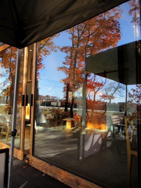 cafe and interior L / カフェ&インテリア エル * 初冬のテラスもおこたでぬくぬく♪_f0236260_00555644.jpg