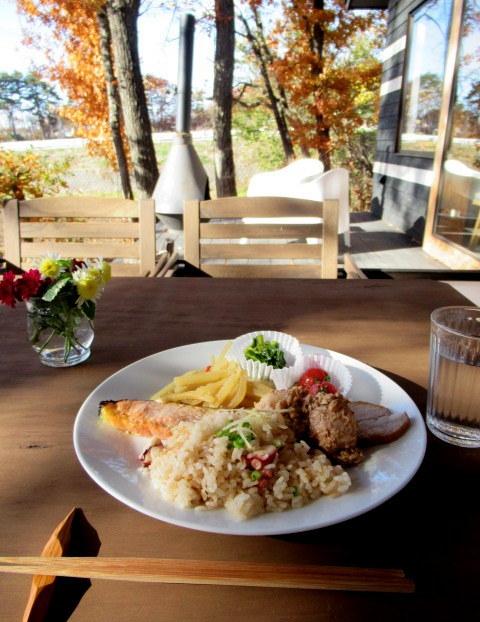 cafe and interior L / カフェ&インテリア エル * 初冬のテラスもおこたでぬくぬく♪_f0236260_00561517.jpg