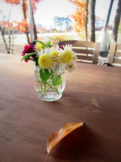 cafe and interior L / カフェ&インテリア エル * 初冬のテラスもおこたでぬくぬく♪_f0236260_00595769.jpg