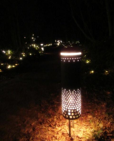 ハルニレテラス「幸せが灯る街」* やどりぎのイルミネーション♪_f0236260_01223707.jpg