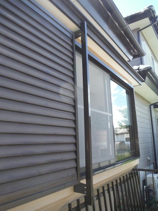 小工事 ~ 窓の面格子取付。_d0165368_05570324.jpg