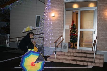 よこて卸園『イルミネーション点灯式』を開催しました。_f0141477_11160154.jpg