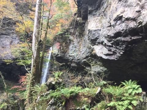 秋のトレッキング  出会の滝_e0115904_05150029.jpg