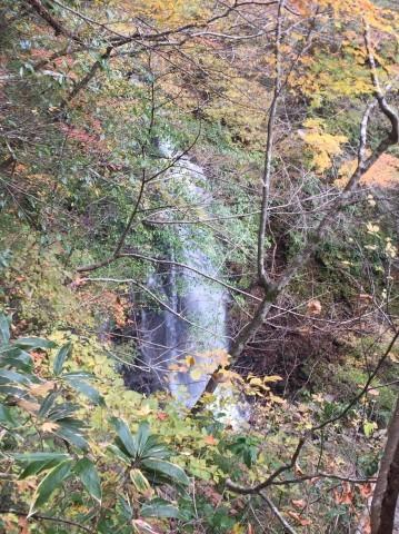 秋のトレッキング  出会の滝_e0115904_07430127.jpg