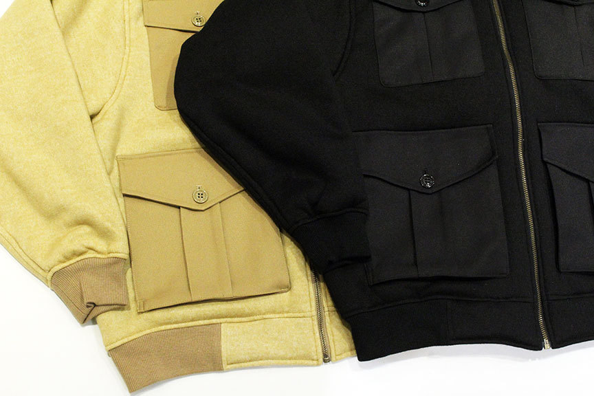 "COMFORTABLE REASON (コンフォータブルリーズン) "" Boa Fleece Pilot Jacket \""_b0122806_12423466.jpg"
