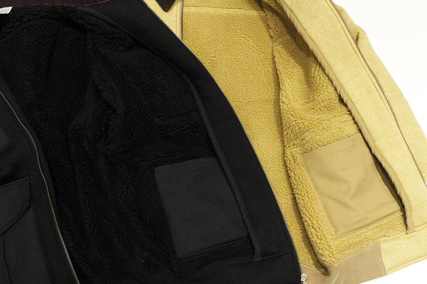 "COMFORTABLE REASON (コンフォータブルリーズン) "" Boa Fleece Pilot Jacket \""_b0122806_12424313.jpg"