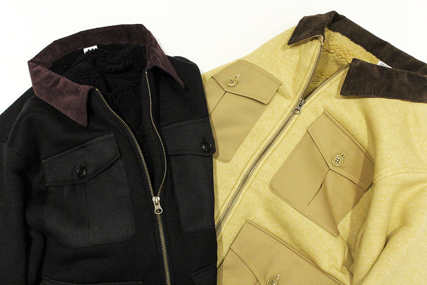 "COMFORTABLE REASON (コンフォータブルリーズン) "" Boa Fleece Pilot Jacket \""_b0122806_12430182.jpg"