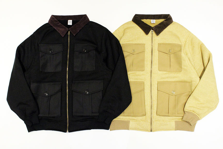 "COMFORTABLE REASON (コンフォータブルリーズン) "" Boa Fleece Pilot Jacket \""_b0122806_12430451.jpg"