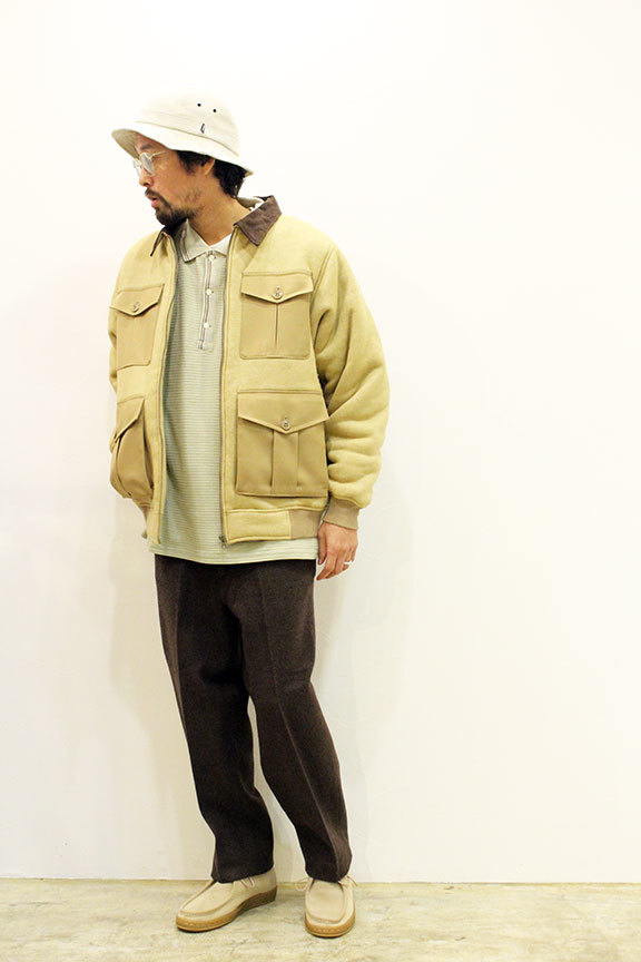 "COMFORTABLE REASON (コンフォータブルリーズン) "" Boa Fleece Pilot Jacket \""_b0122806_12433329.jpg"