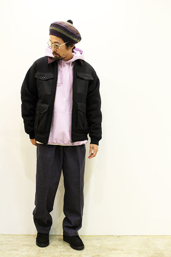 "COMFORTABLE REASON (コンフォータブルリーズン) "" Boa Fleece Pilot Jacket \""_b0122806_12434140.jpg"