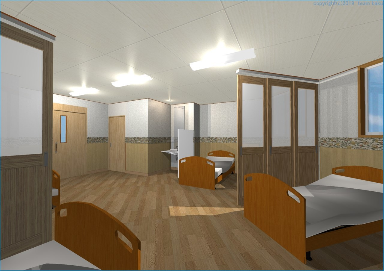 N病院グループ N病院東館 介護医療院転換改修工事 2_c0376508_05480600.jpg