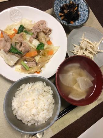 肉野菜炒め_d0235108_21502792.jpg