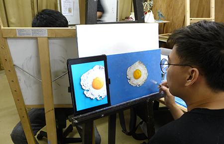 日本画・油絵科マスターコース 留学生クラス授業・作品紹介_b0107314_12032546.jpg