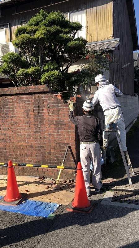 塀工事2 解体_e0360218_18210985.jpg