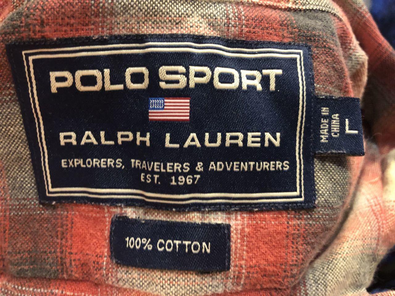 11月23日(土)入荷!90s POLO SPORT  RALPH LAUREN オンブレ シャツ!_c0144020_14063972.jpg