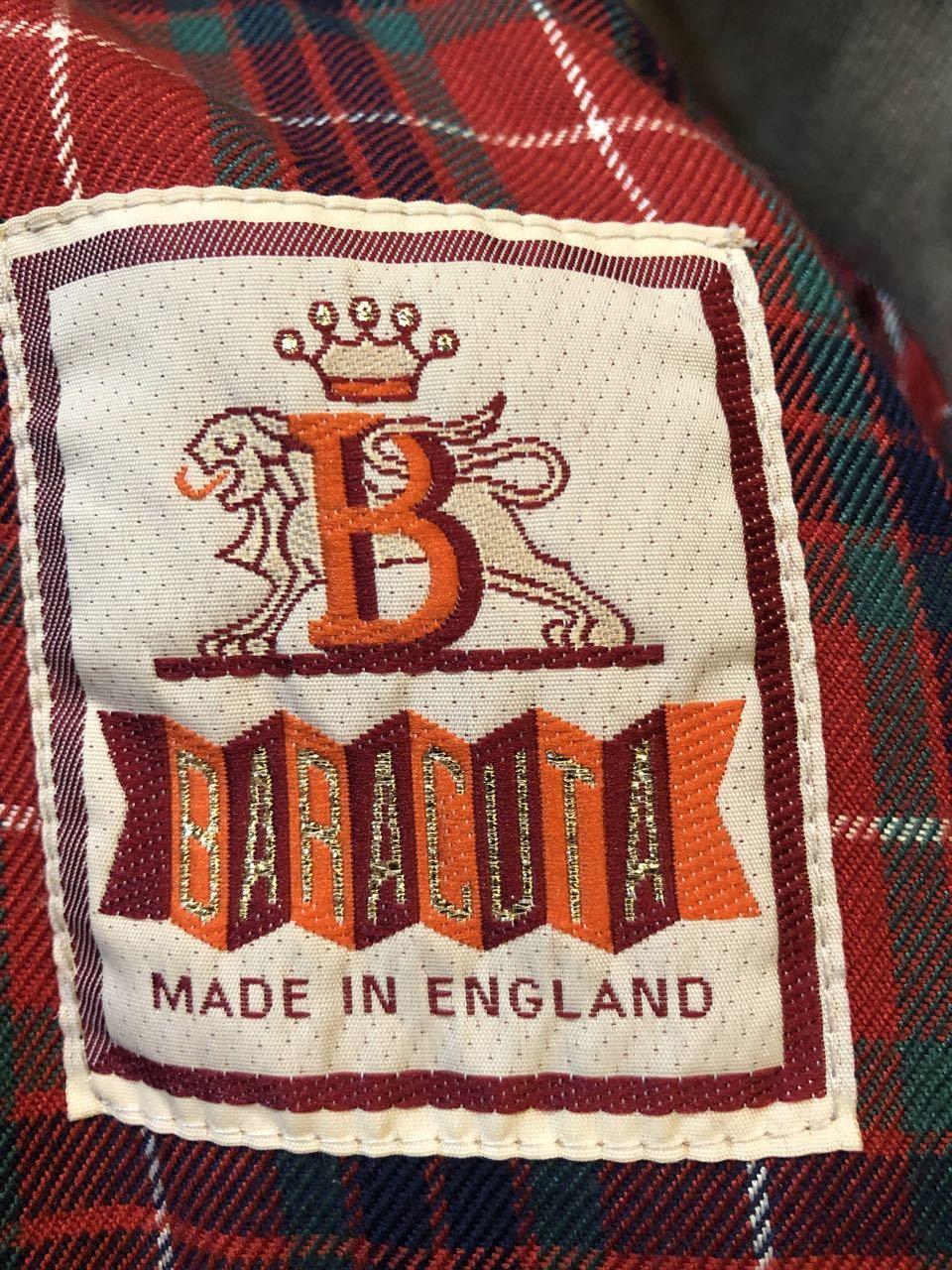 11月23日(土)入荷! 80s〜Made in England Baracuta G9 バラクータ _c0144020_14172392.jpg
