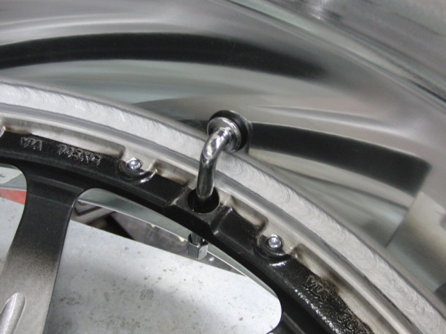 レクサスRC300H 足回り交換後のブレーキキャリパー塗装&ホィール_c0360321_21134577.jpg